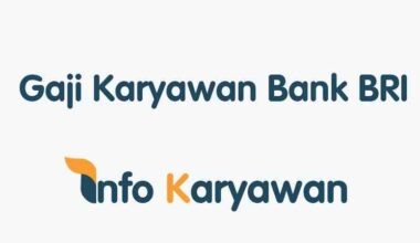 Gaji Karyawan Bank BRI