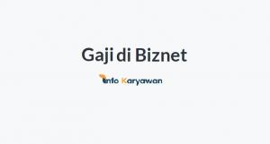 Gaji Karyawan Biznet